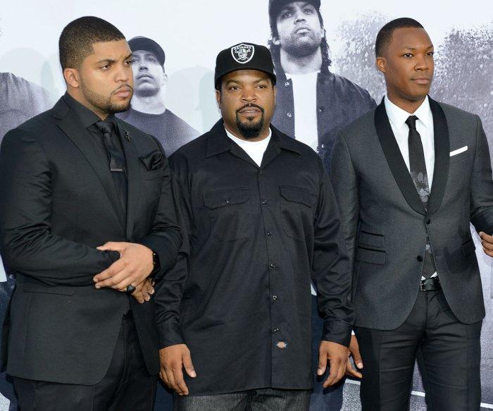 'Straight Outta Compton' premiere