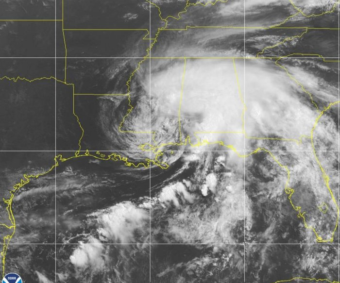 Claudette, 1st tropical storm of season, brings flooding to Gulf Coast