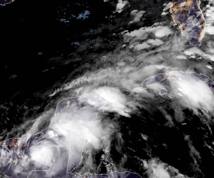 Cristobal could approach U.S. Gulf Coast as hurricane this weekend