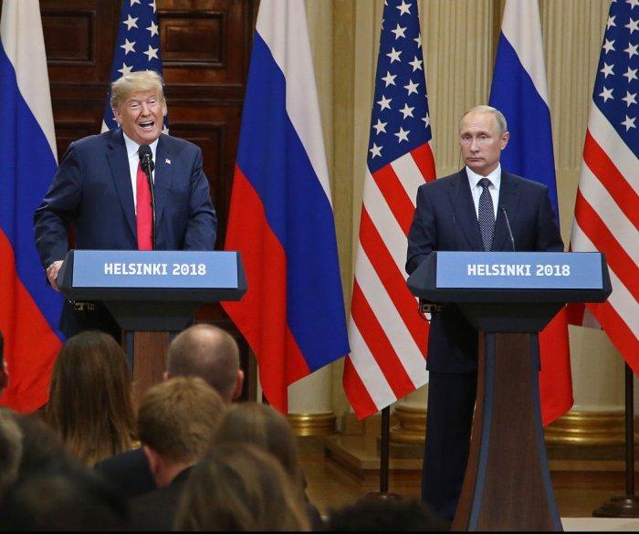 Trump, Russians hail summit victory; U.S. views different