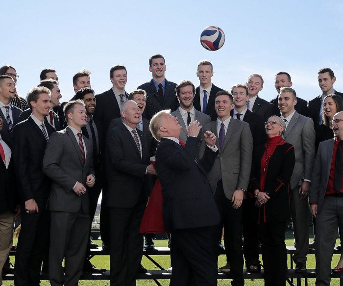 President Donald Trump honors NCAA champions