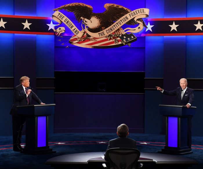 First presidential debate takes place in Cleveland