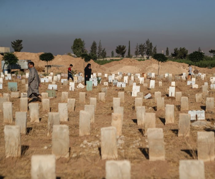 Officials: Islamic State killed dozens before being run out of Syria town
