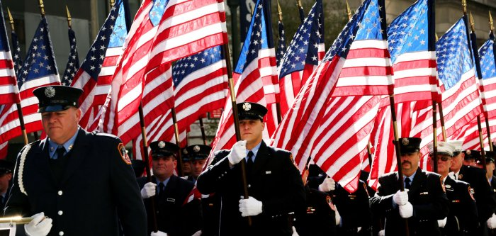 Parade marks Veterans Day in New York
