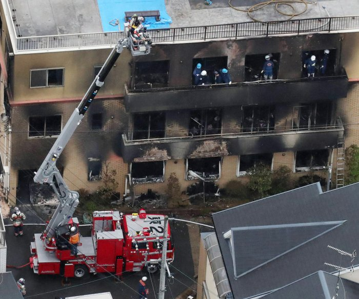 Police: Arsonist who lit anime studio upset about plagiarism