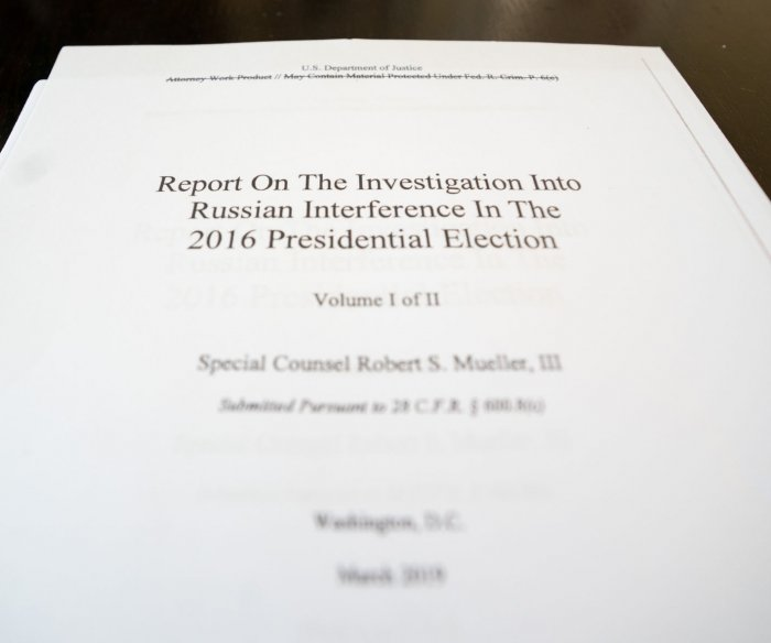 Read key excerpts from Robert Mueller's report