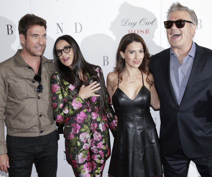 Demi Moore, Alec Baldwin attend 'Blind' premiere in New York