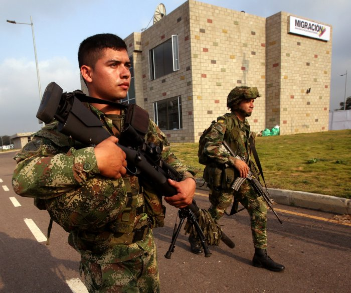 Venezuelan troops open fire at border ahead of aid delivery; 2 dead