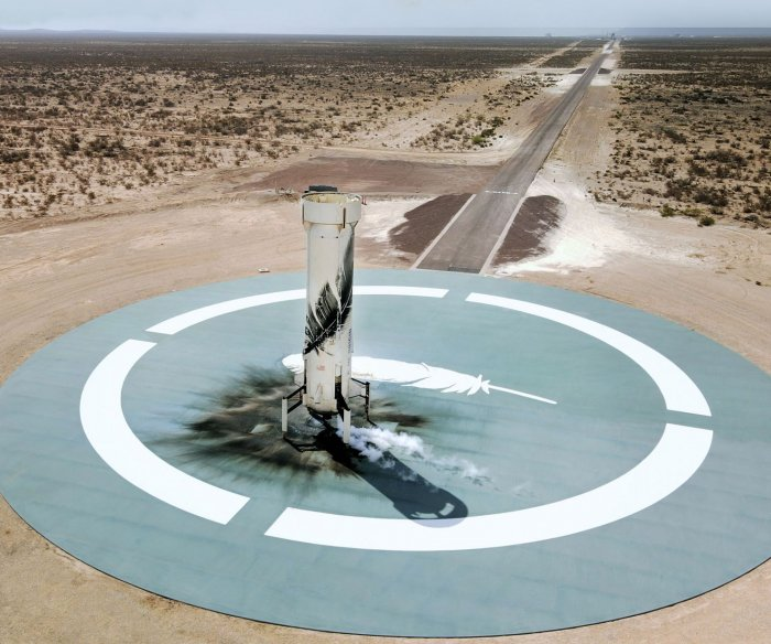 Blue Origin plans second crewed space launch from Texas