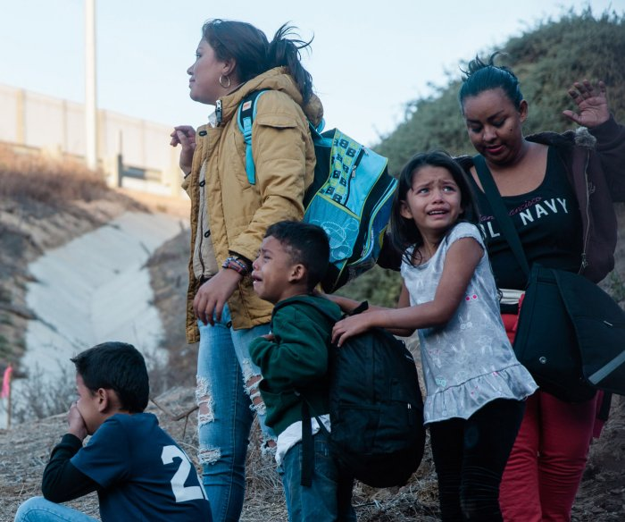 Parenting in a migrant caravan: Children hit hardest by strife