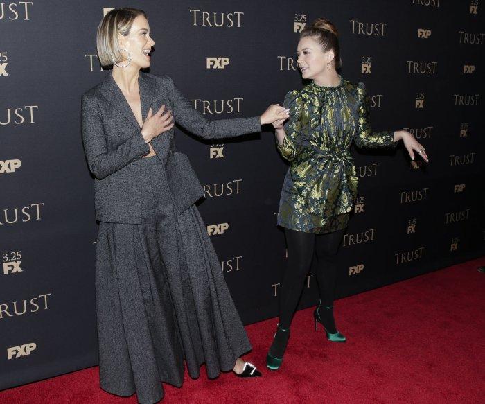 Sarah Paulson, Billie Lourd attend FX All-Star party