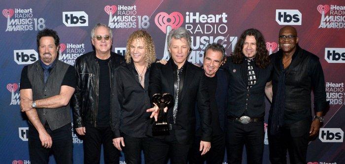 Bon Jovi, Khalid win top honors at the iHeartRadio Music Awards