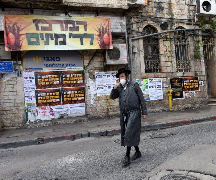 Israeli police seal Bnei Brak after it's declared coronavirus 'restricted zone'