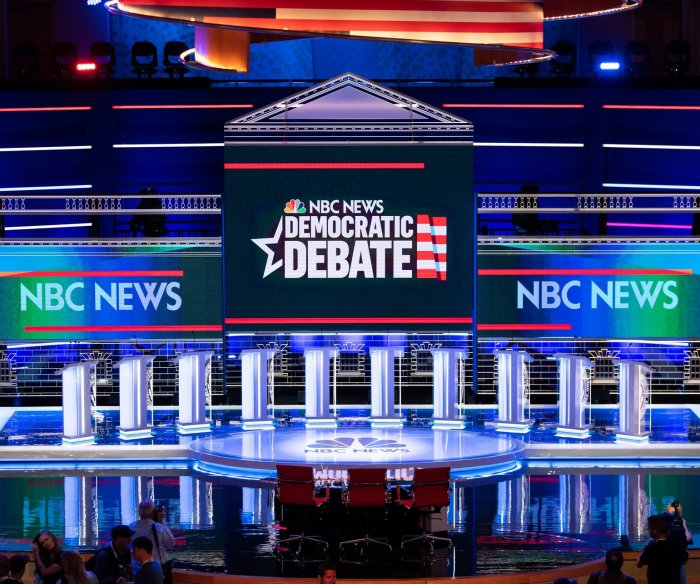 Watch live: First night of Democratic presidential debates takes place