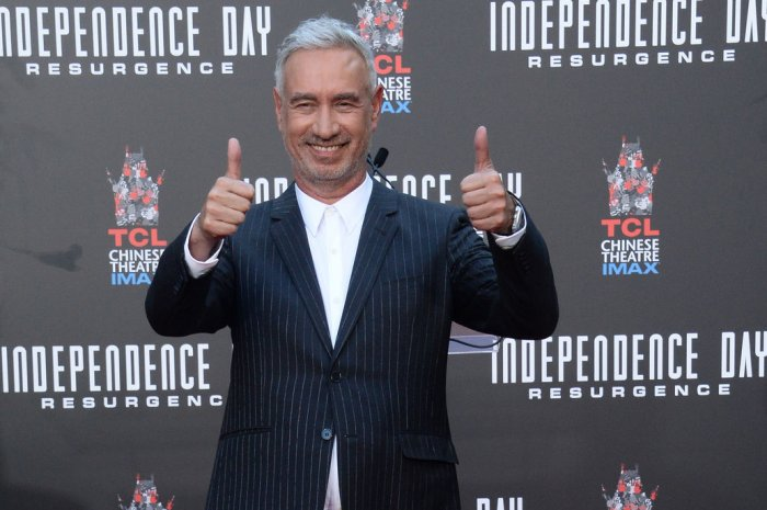 Roland Emmerich handprint ceremony at TCL Chinese Theatre