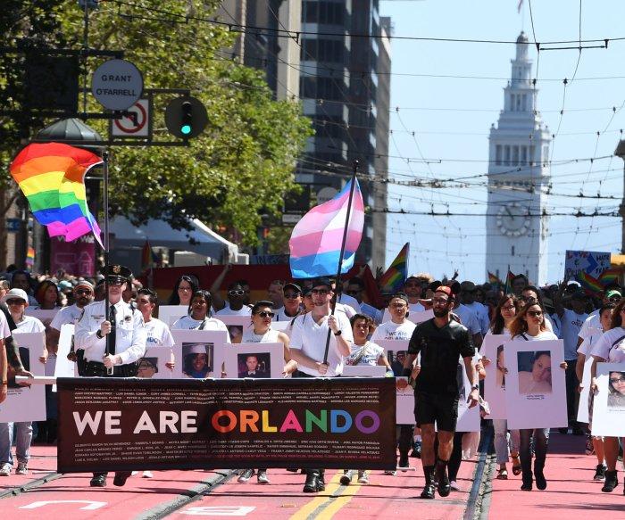 LGBT Pride Parade fills streets of San Francisco