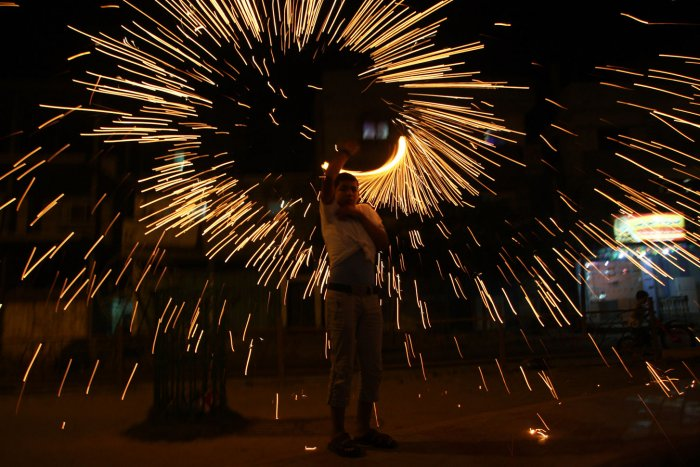 Celebrating the Muslim holy month of Ramadan in Gaza