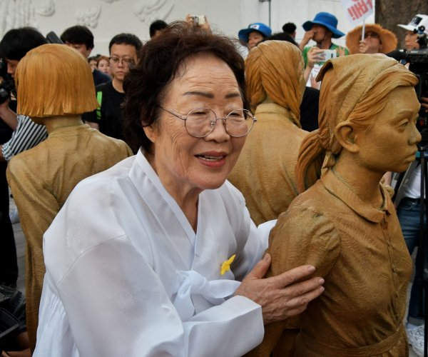 South Korea honors 'comfort women' with rally, new statue