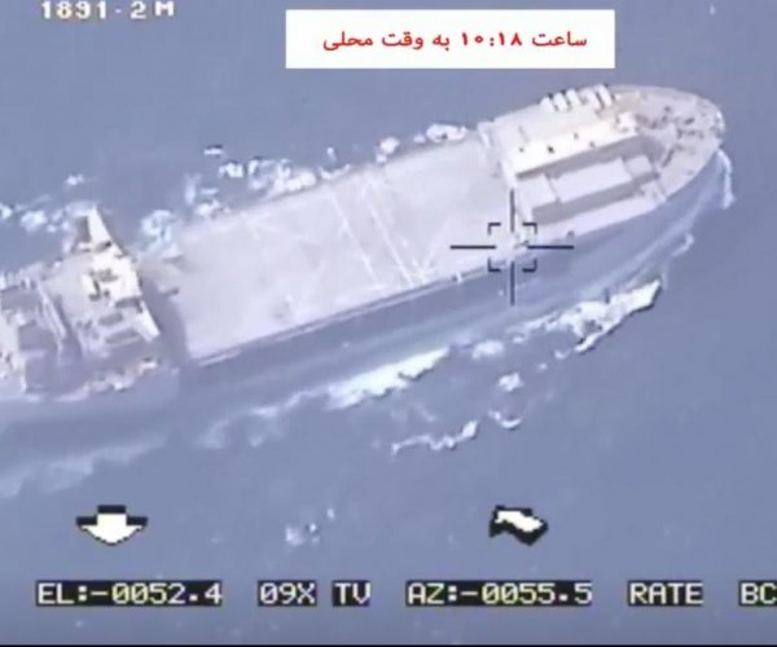 Iran airs video of drone shooting; Trump warns Tehran