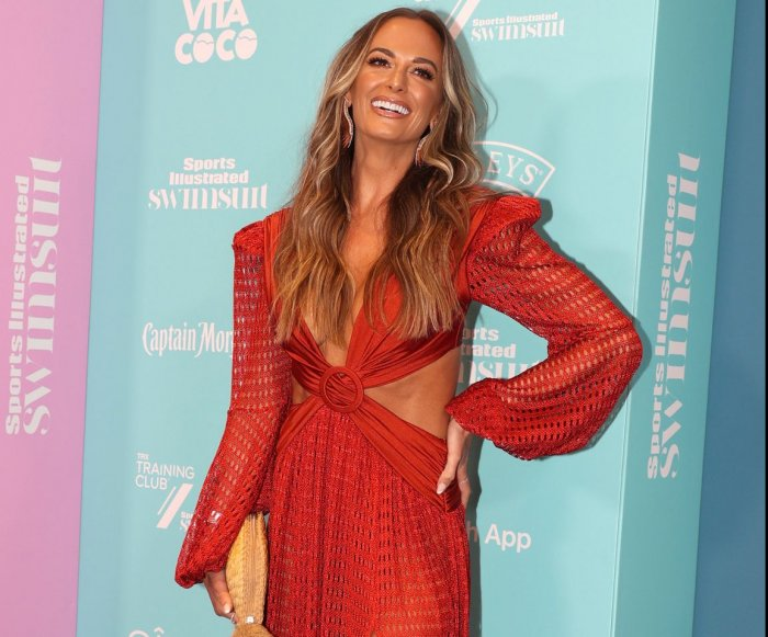 Moments from Sports Illustrated swimsuit edition celebration