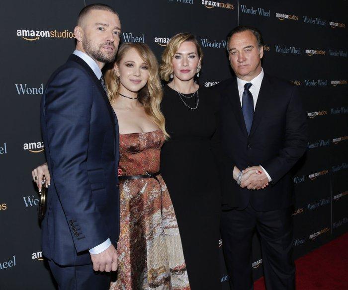 Kate Winslet, Justin Timberlake walk the red carpet at the 'Wonder Wheel' screening in NYC