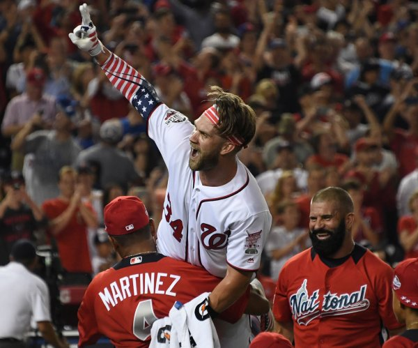 Washington Nationals' Bryce Harper wins Home Run Derby