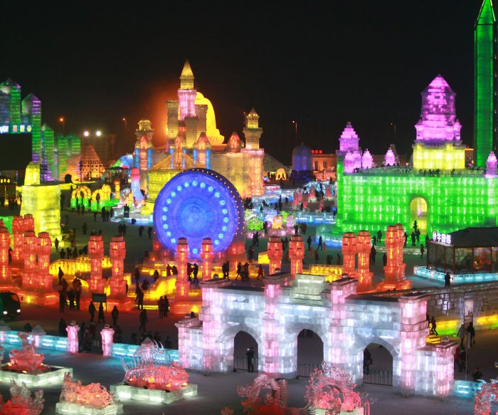 2015 Ice Festival in China