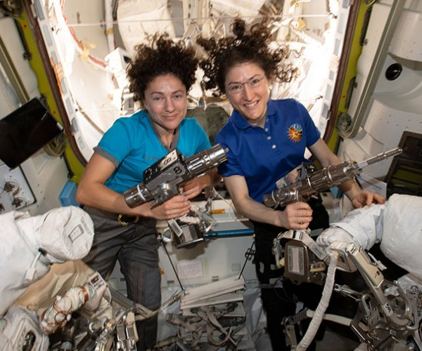NASA's Meir, Koch prepare to make history in first all-female spacewalk