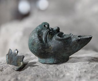 Israeli archeologists discover rare ancient oil lamp
