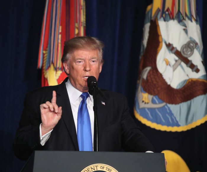 Trump: 'Longest war in U.S. history' must continue in Afghanistan