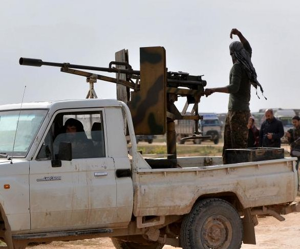 Islamic State 100% defeated in Syria, rebels say