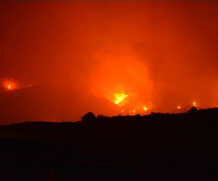 California wildfire 3rd largest in state history, threatening Montecito