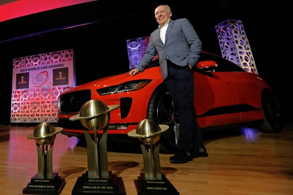 Jaguar wins World Car Award at New York auto show