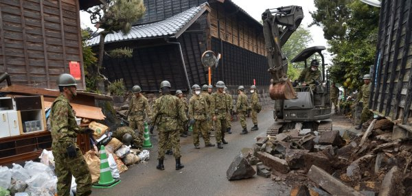 The Kumamoto earthquake: 10 Days Later