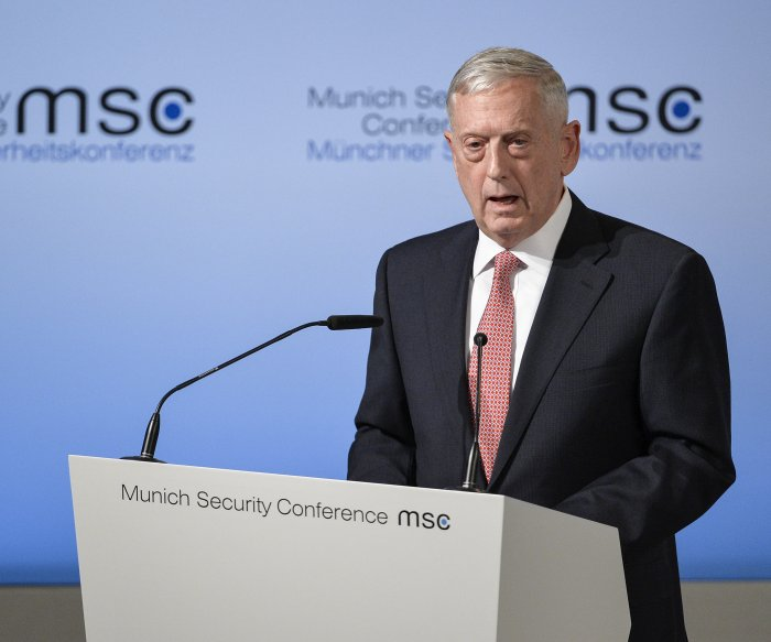 Mattis to Iraqis: U.S. not in Iraq 'to seize anybody's oil'