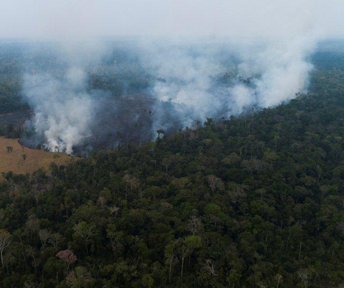 Brazil deploys troops to battle Amazon rainforest fires