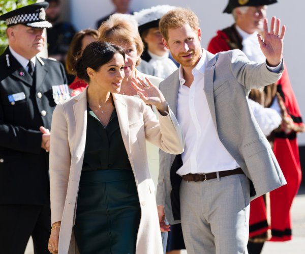 Prince Harry's wife, Meghan Markle, pregnant with first child
