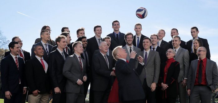 President Donald Trump honors NCAA champions