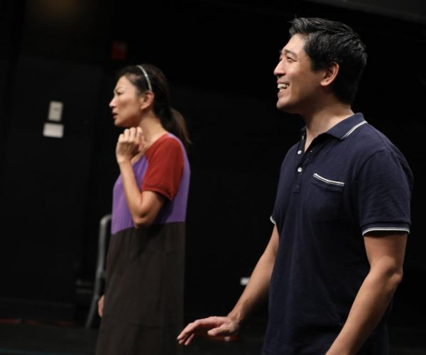 South Korea 'goose father' finds solace with defector in N.Y. play