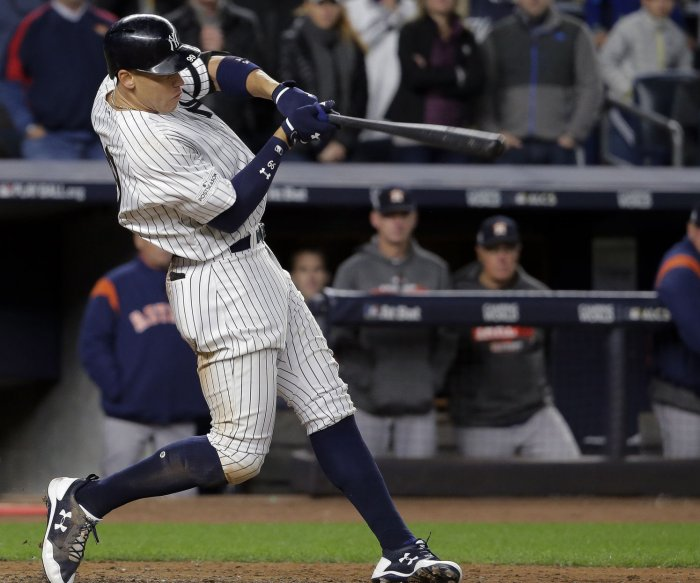 Yankees rout Astros 8-1 to cut into Houston's ALCS lead
