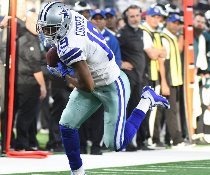 Amari Cooper's dramatic catch lifts Cowboys by Eagles in overtime