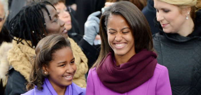Sasha and Malia Obama through the years