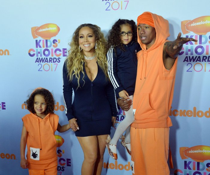 On the red carpet at Nickelodeon's Kids' Choice Awards