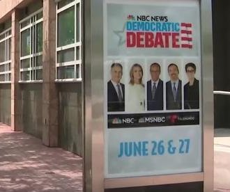 10 Democrats set for first 2020 debates Wednesday night