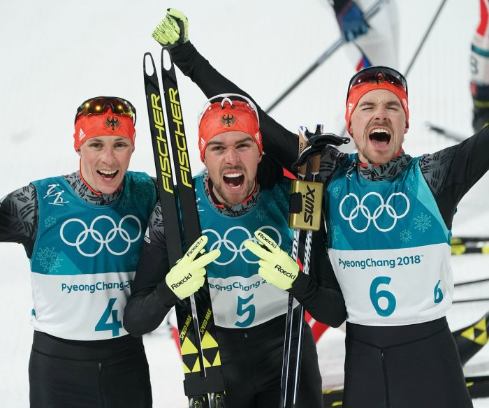 Pyeongchang medal count: Germans closing gap on Norway