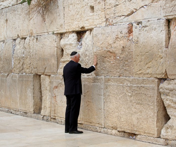 Pence visits Western Wall on last day of Israel visit