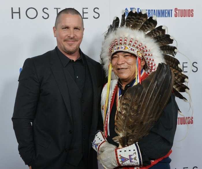 Christian Bale and cast attend premiere of 'Hostiles' in Beverly Hills