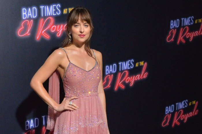 Dakota Johnson, Jon Hamm attend 'Bad Times at the El Royale' premiere