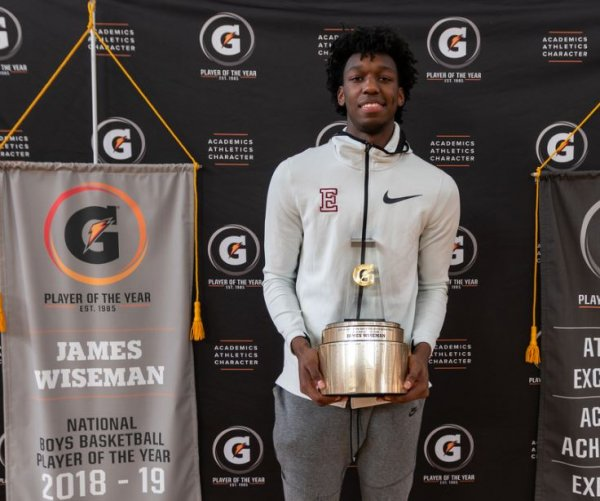 March Madness: Top prospect James Wiseman has mission to bring Memphis back