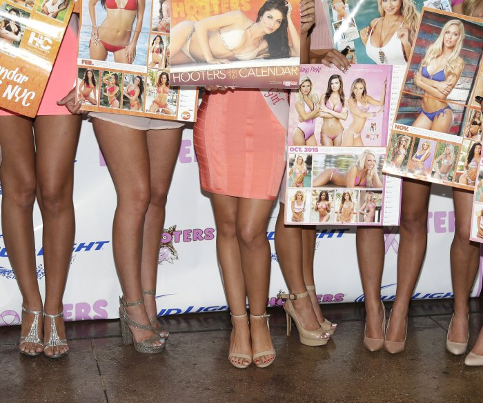 2016 Hooters Calendar Girls in New York